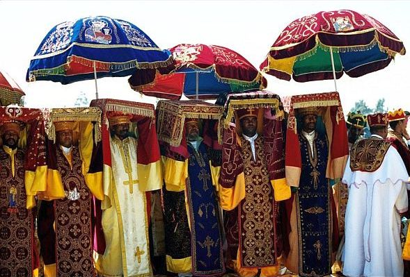 etiopia timkat procesja